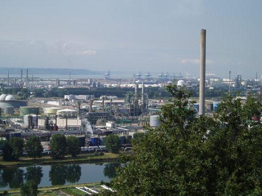 Industrial Le air quality now participating cities le havre and rouen
